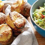 White Cheddar-Sage Popovers Recipe | MyRecipes.com