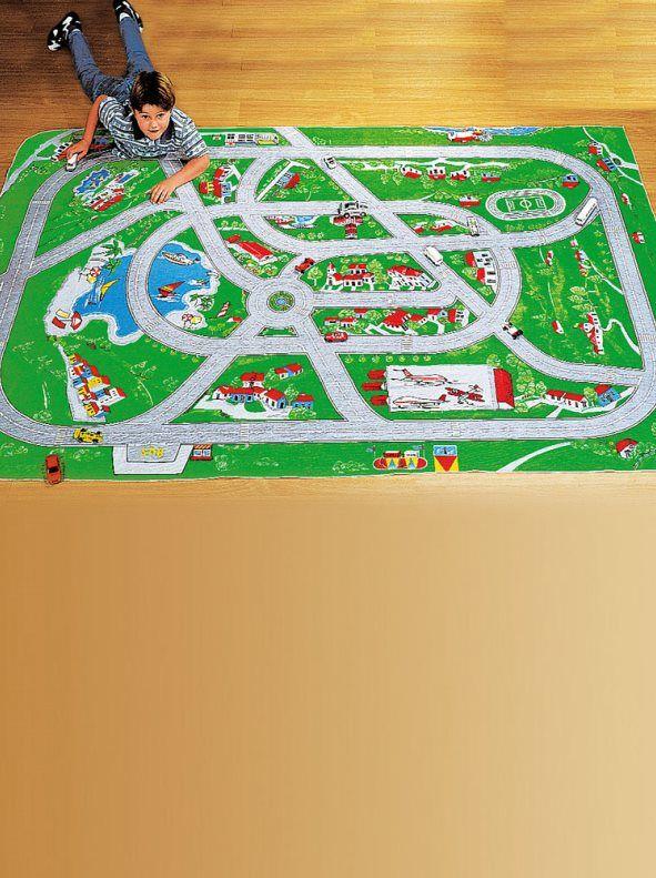 Las 25 mejores ideas sobre juegos de alfombra de coches - Alfombra circuito coches ...