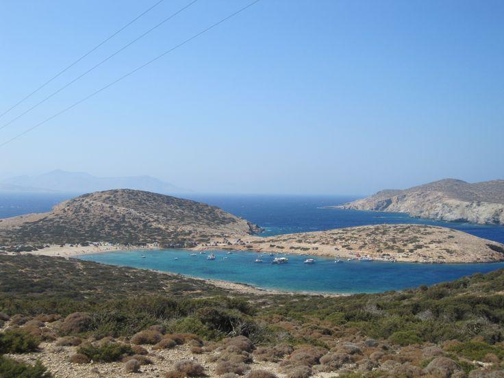 Kalotaritissa beach - Amorgos island, the Cyclades