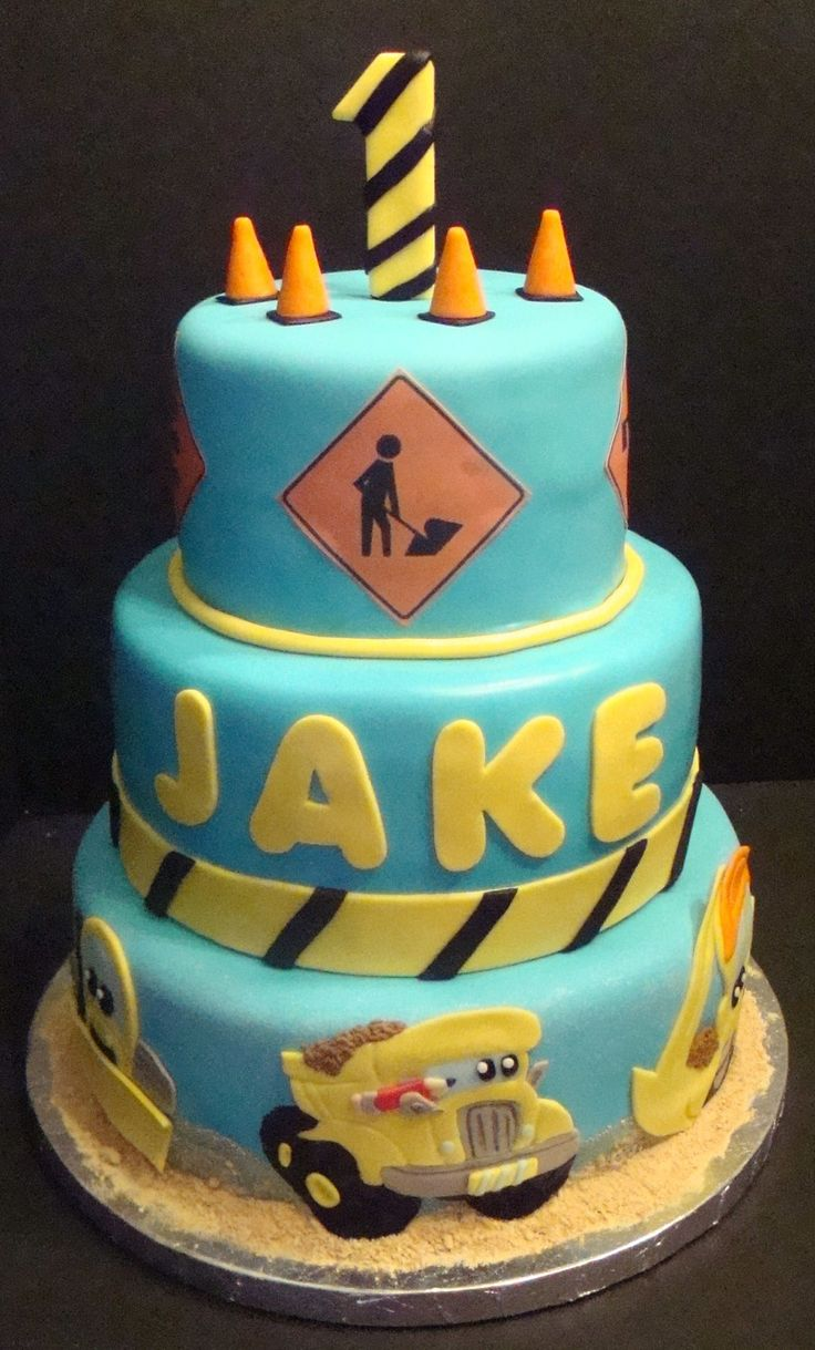 Construction Birthday Cake Ideas