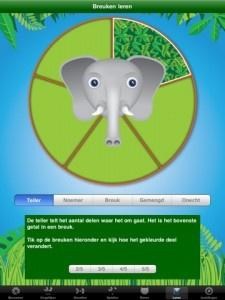 Jungle breuken    Wat leert mijn kind van de App:  Breuken benoemen  Breuken vergelijken  Breuken omzetten  Breuken optellen    Dit is een App voor kinderen met een duidelijk educatief doel. Breuken leren.
