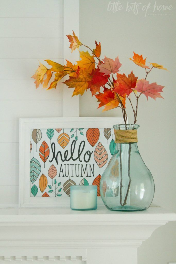 Aqua   Orange Fall Mantle