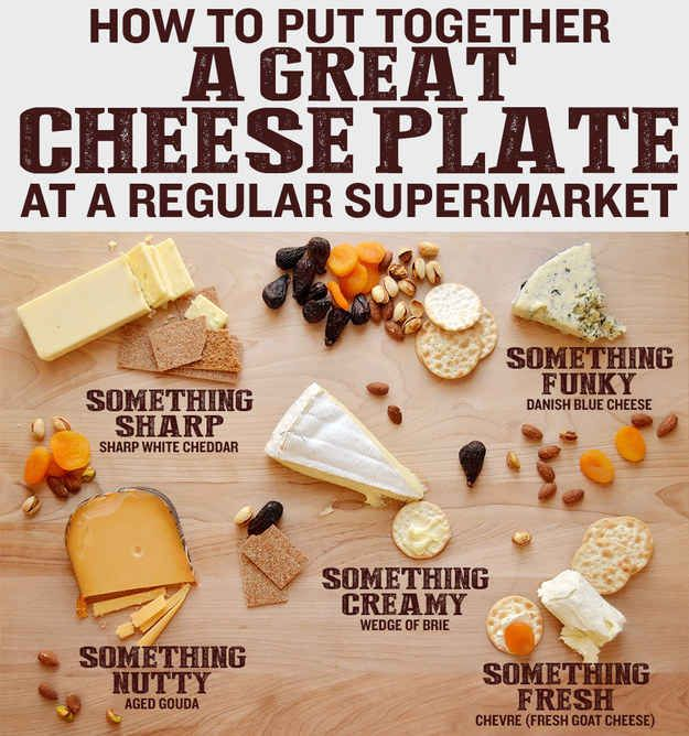 Learn how to make a proper cheese board that'll ruin your guests' appetites.