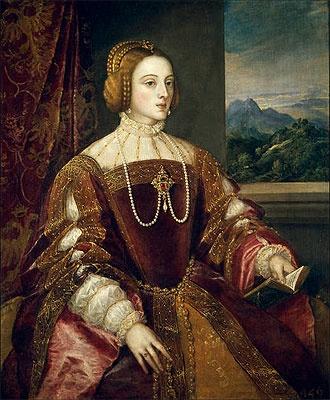 Empress Isabel of Portugal - Tiziano Vecellio Titian