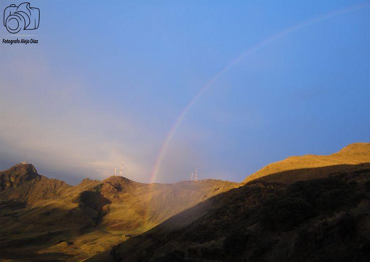 Arco iris en el Nevado del Ruiz
