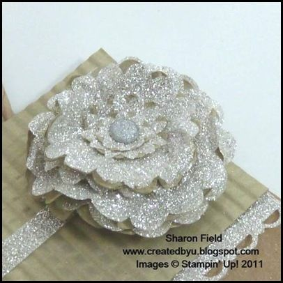 295 best paper flowers images on pinterest paper flowers paper silver glimmer paper from stampin up wow technique and flower mightylinksfo Choice Image