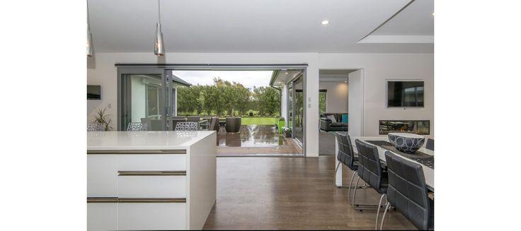 Modern kitchen, indoor outdoor flow