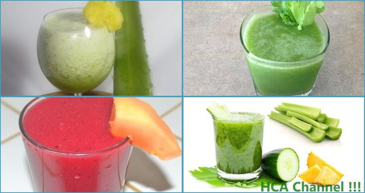 5 recetas de zumos detox para perder peso y bajar barriga rápidamente