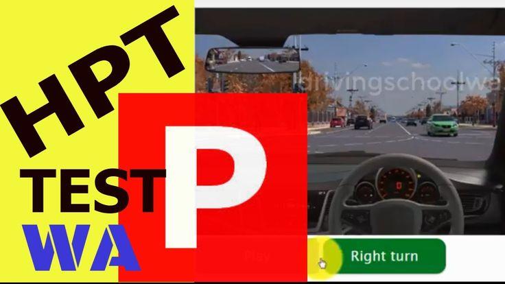 Hazard Perception Test (HPT) Simulator - West Australia & South Australi...