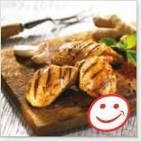 Hauts de cuisses de poulet grillés aux épices indiennes - Source Métro.ca