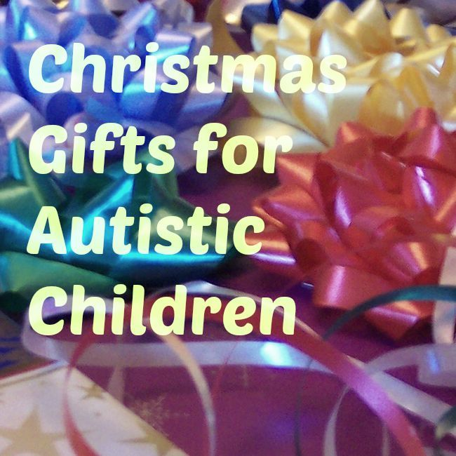Christmas Gifts for Autistic Children Christmas Gifts for Autistic Children When it comes to buying Christmas gifts for autistic children, make sure to focus on toys that will stimulate their senses. The reason being is that most kids with autism have sensory challenges, and they have to be introdu