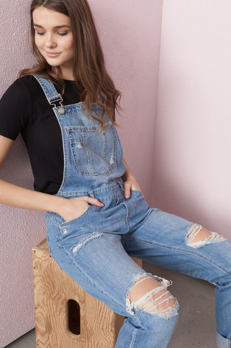 Palm Springs Blue Overall