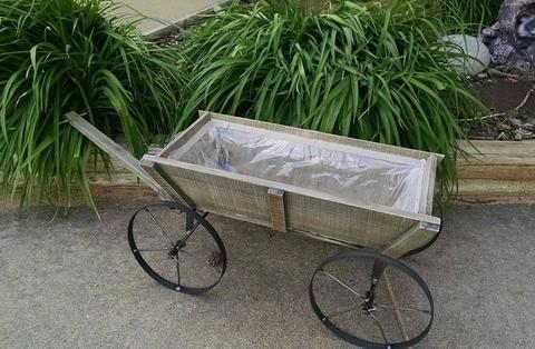 Decor Wheelbarrow Pull Wagon Planter