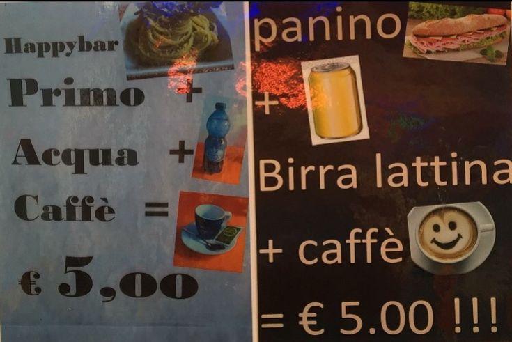 Happybar promozioni da 5€ – Milano – Vimodrone – HAPPY BAR