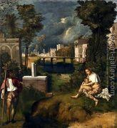 Tempest c. 1505  by Giorgio da Castelfranco Veneto (See: Giorgione)