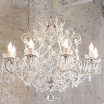 chandeliersDecor, Lights, Dining Room, Shabby Chic Chandeliers, Living Room, Crystals Chandeliers, French Country, House, Shabbychic