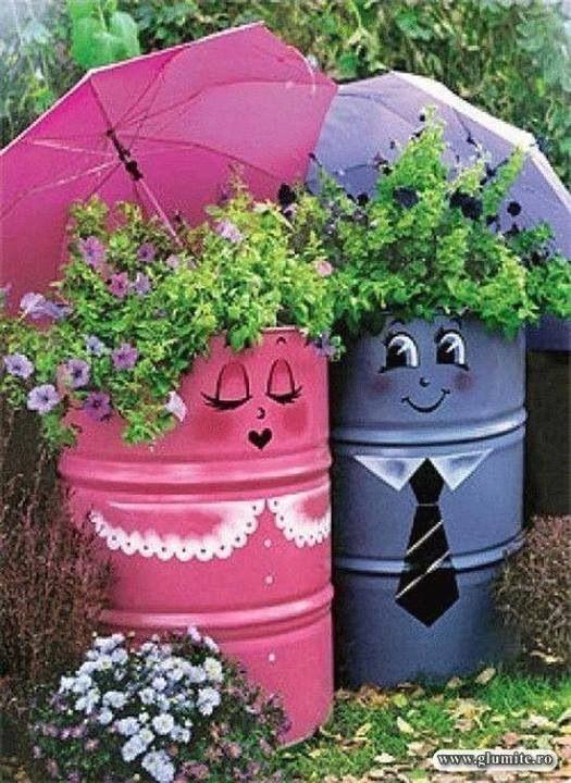 Mr & Mrs Plant Barrels    Awesome!!!!!!!!