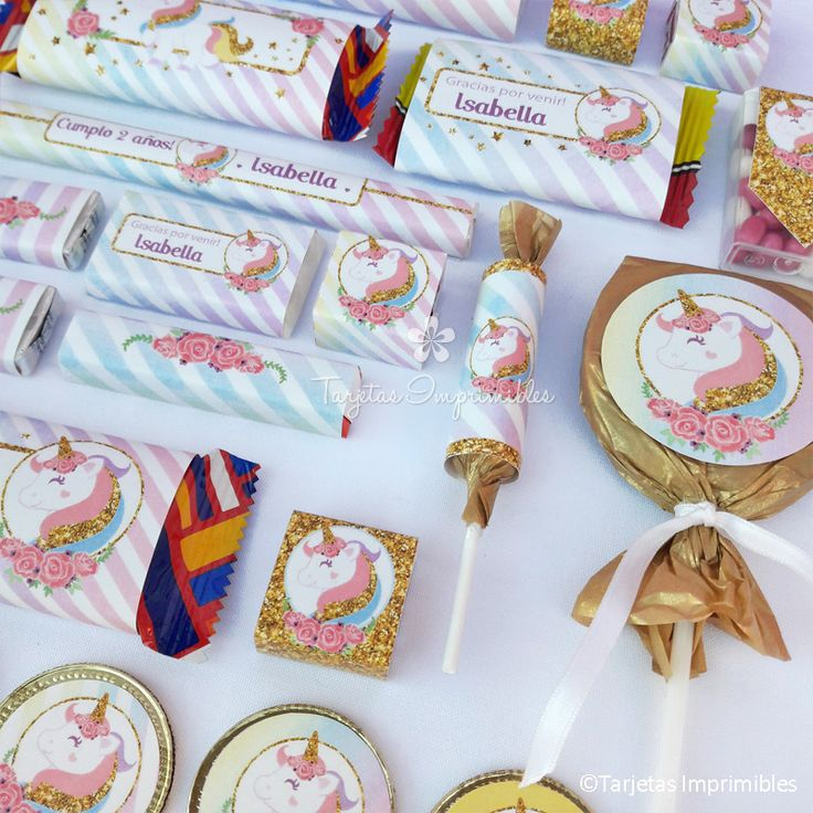 Candy bar - Unicornios  #candybar #cumpleaños #cumpleañosinfantiles #ideascumpleaños #partyideas #candybarunicorn #unicornios