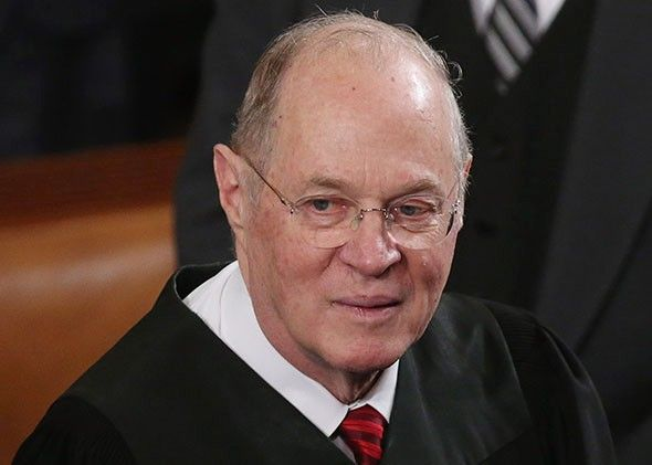 Justice Anthony Kennedy, who authored today's ruling legalizing same-sex marriage throughout the United States, is sometimes made fun of for his notoriously purple prose. But today he managed to close his opinion with one of the most beautiful passages you'll likely read in a court case. I teared up. So...