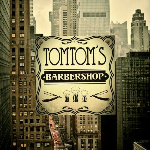 My new logo. The future of Tomtom's Barbershop