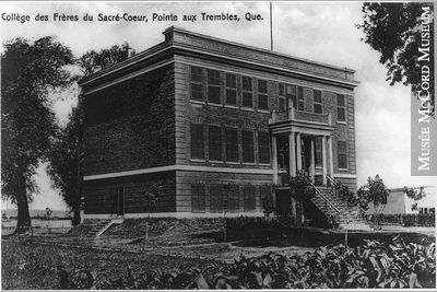 Le Collège des Frères du Sacré-Coeur à Pointe-aux-Trembles