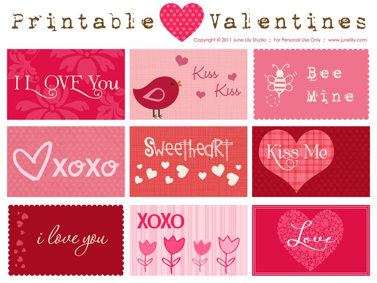 valentine box template