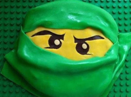 How to Make a Lego NinjaGo Birthday Cake