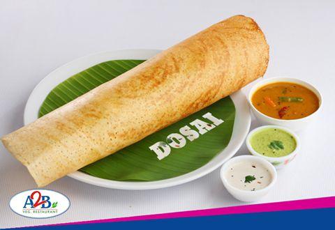 Crispy Dosa for a Crispy weekend at Adyar Ananda Bhavan.  www.aabsweets.in | admin@aabsweets.com +91- 44 - 23453050, 24469977, 24462324  #AdyarAnandaBhavan #Food #Foodie #Restaurant