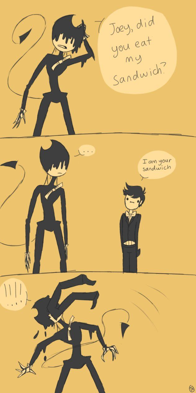 Pin by Bendy the Dancing Demon on Comics | Bendy, the ink