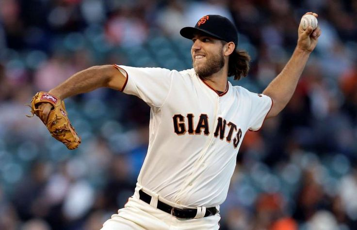 10 best bargains in baseball:    5) Madison Bumgarner, San Francisco (six years, $35.56 million)  -     The San Francisco Giants' Madison Bumgarner works against the Colorado Rockies on Tuesday, Aug. 26, 2014, in San Francisco.