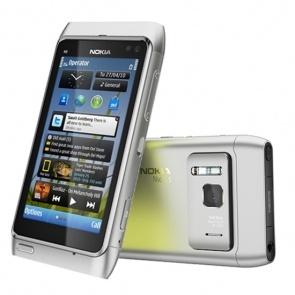 Nokia N8 Silver White