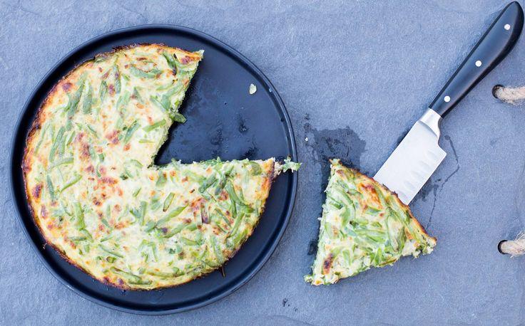 Tortilla de porotos verdes