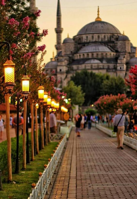 In pretty Istanbul, Turkey.