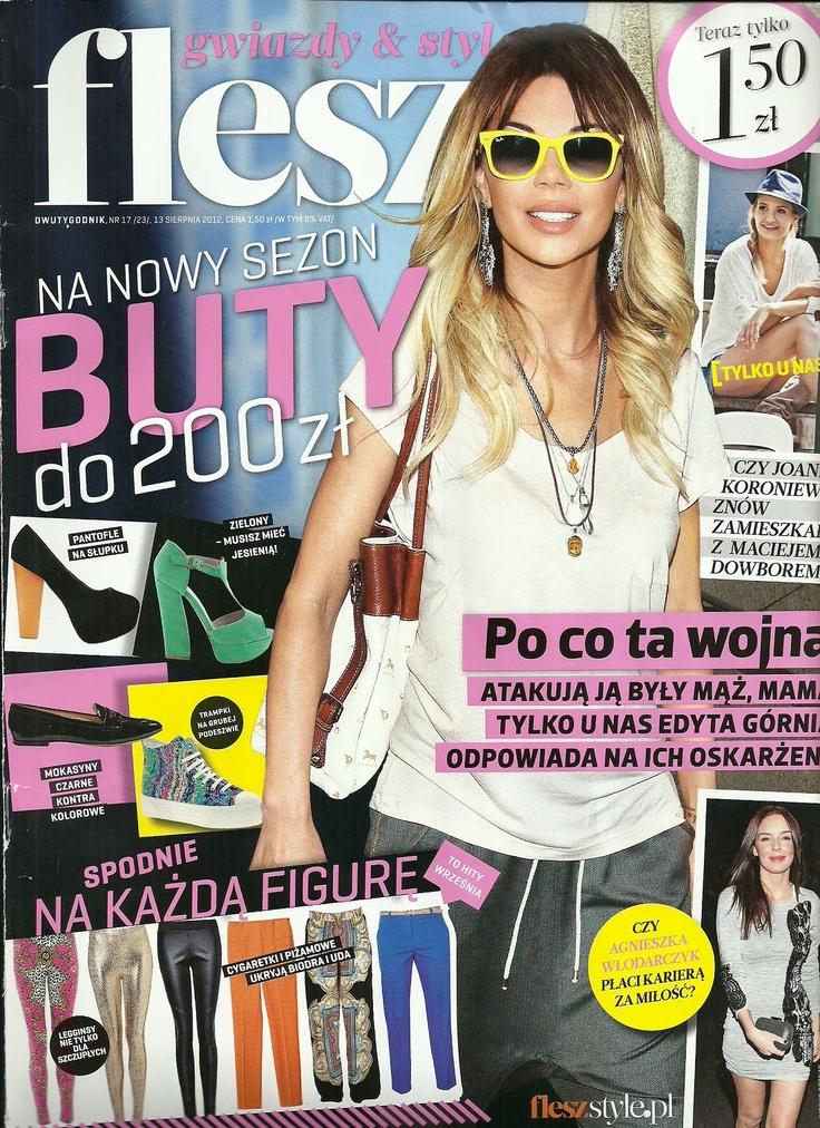 FLESZ August 2012  www.sequinshoes.pl