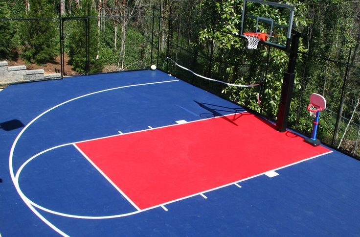 Outdoor sports tiles to be other and the o 39 jays for Outdoor sports court