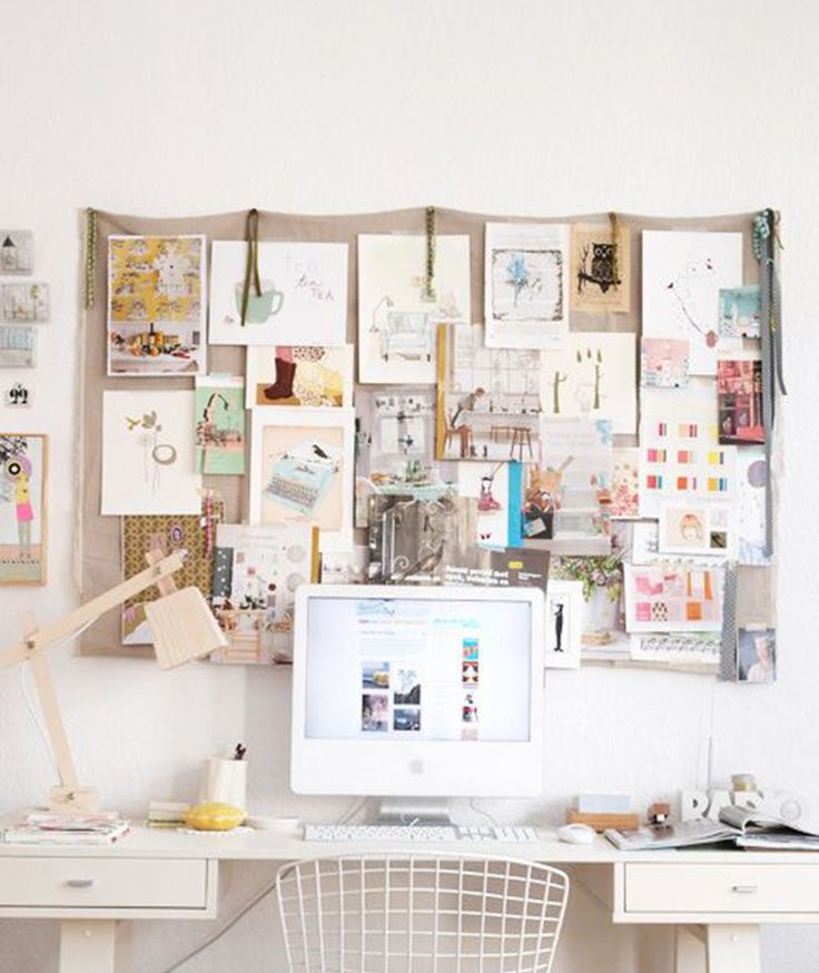 Why Not.make An Inspiration Board? (love The Idea Of An Inspiration Board  Or A Vision Board. Also Makes For A Nice Wall Piece For An Office.