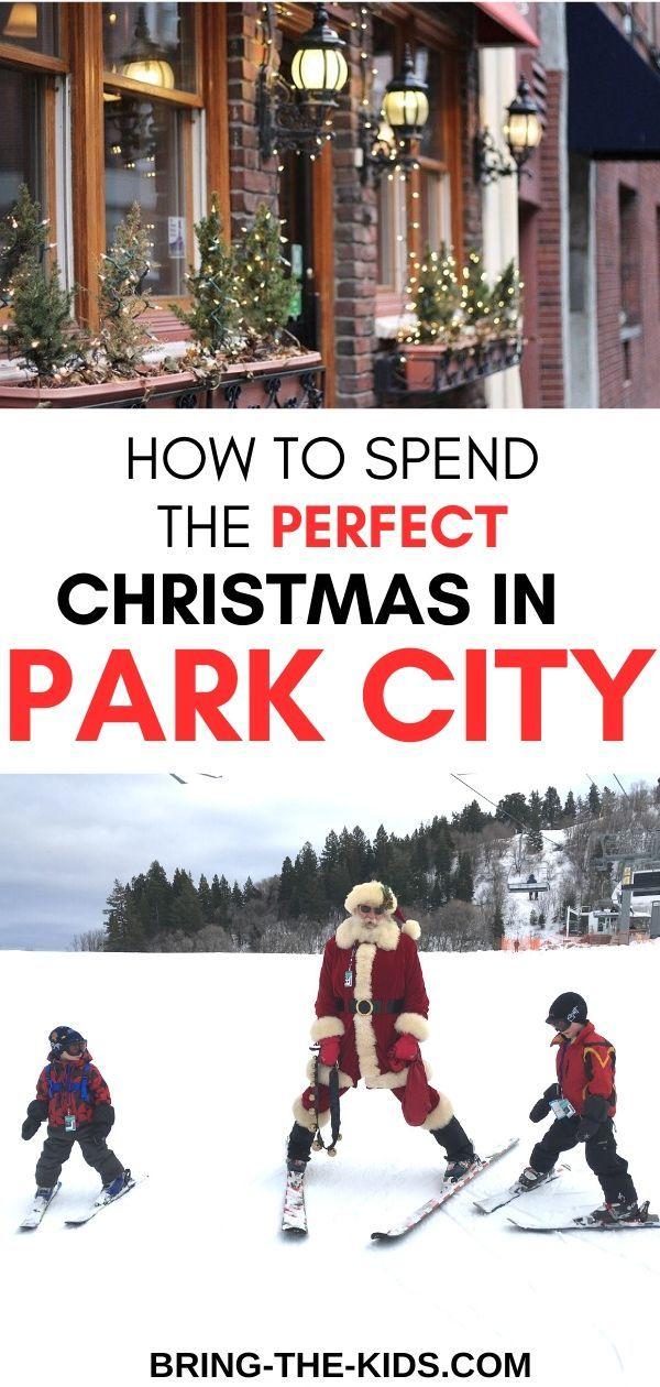 Christmas Activities Park City 2020 Enbracing the Magic of Park City Utah for Christmas 2019 in 2020
