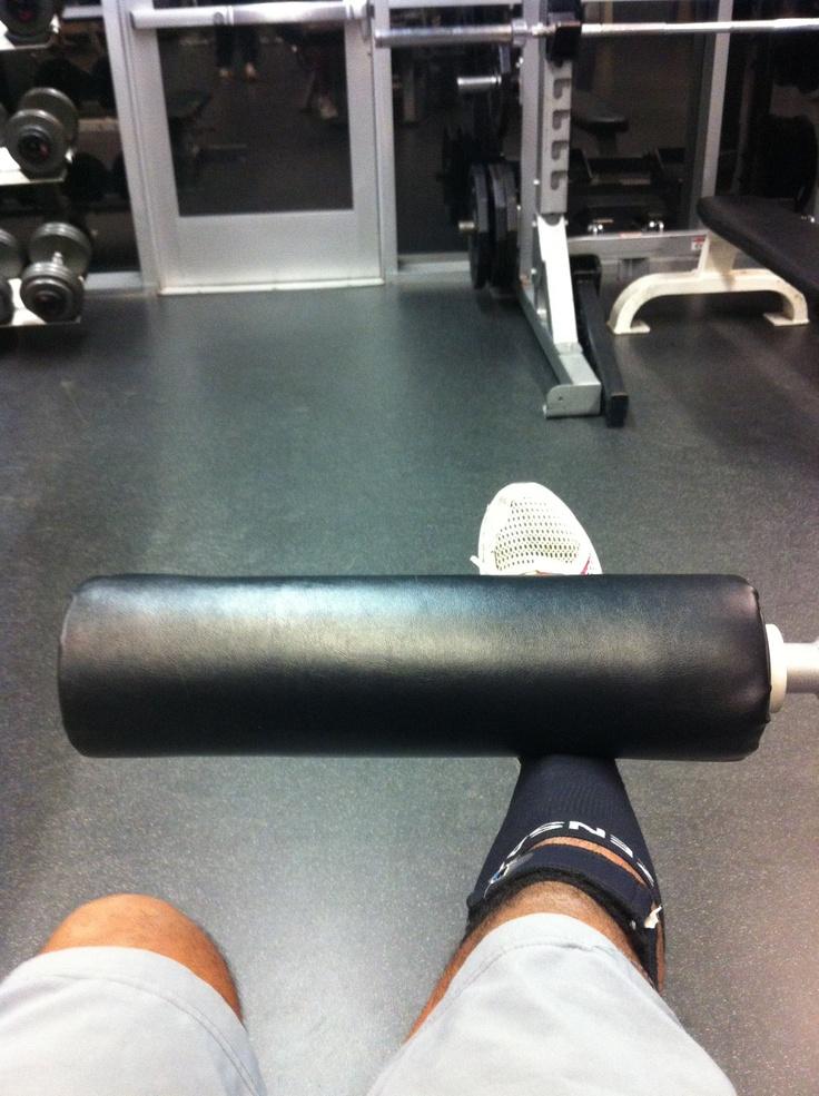 Leg work!
