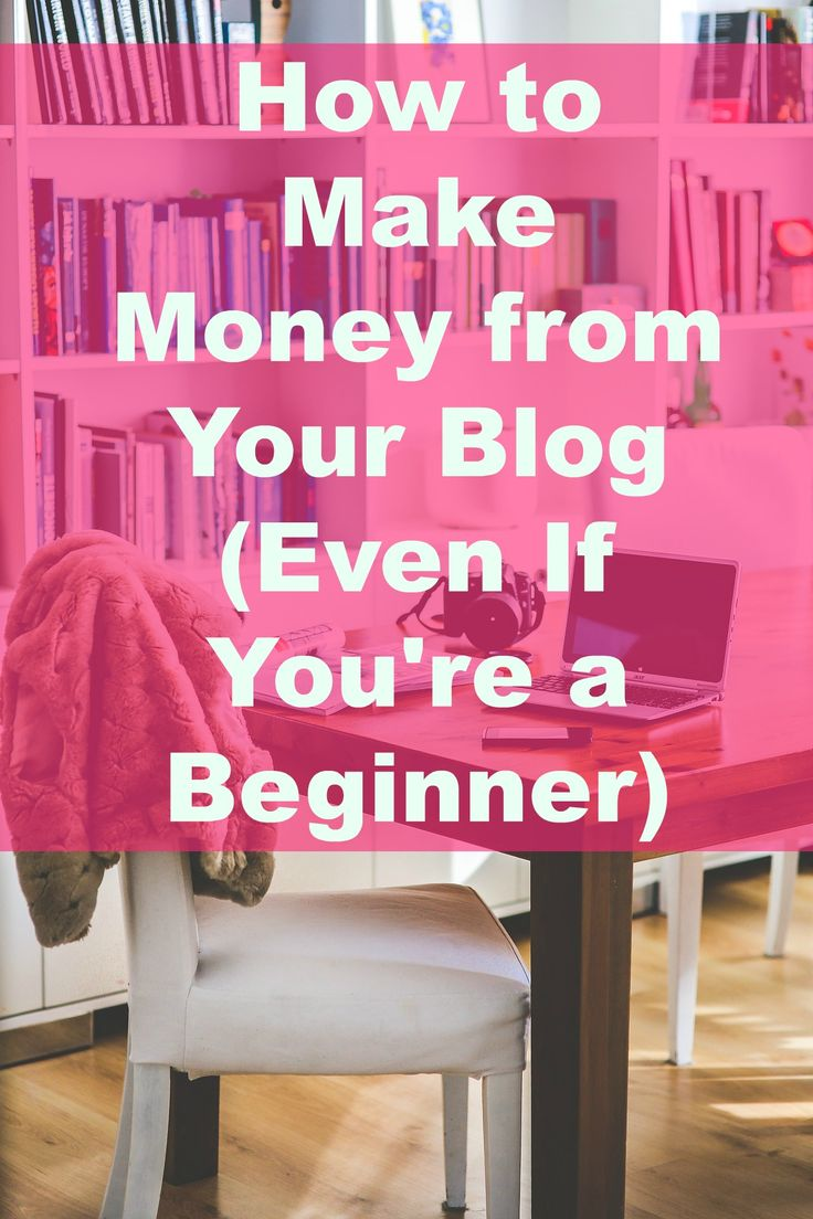 There's more ways to earn money from your blog than pennies from Google Adsense. Check out these 8 ways to earn money from your blog - even if you're a beginner and just starting out.