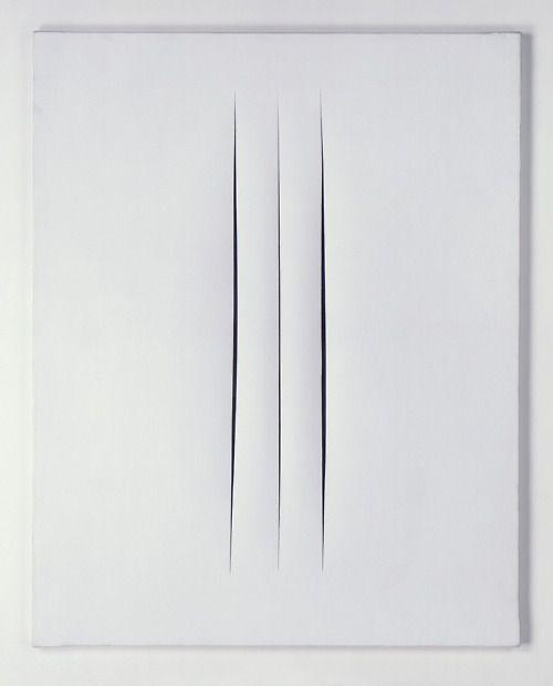Les 154 meilleures images du tableau lucio fontana 1899 for Art minimal et conceptuel