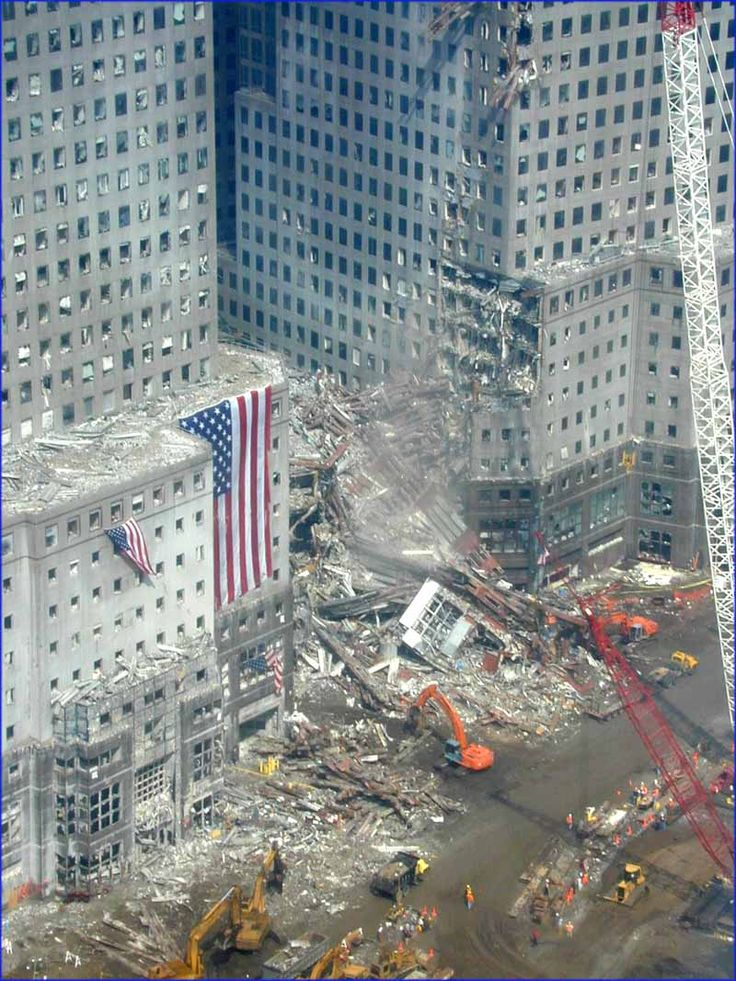 World Financial Center across from WTC after 9/11