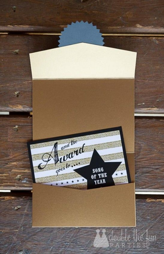 """The envelope, please..."" for Country Music Awards Party by Double the Fun Parties"