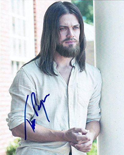Tom Payne Autographed Picture - 8x10 Authentic Autograph The Walking Dead Jesus Coa - Autographed NBA Photos