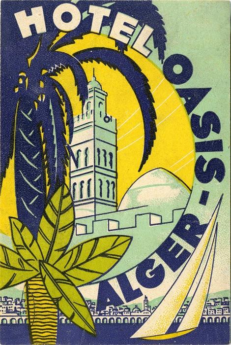 Hotel Oasis, Algiers.