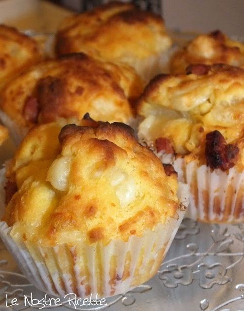 Muffin al salame piccante