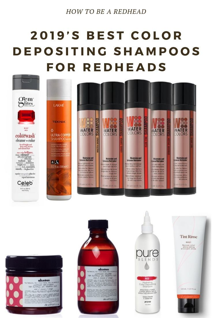 2019 S Best Color Depositing Shampoos For Redheads Color