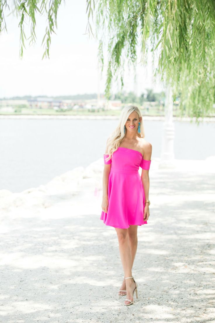 Pink Summer Dress - Mckenna Bleu