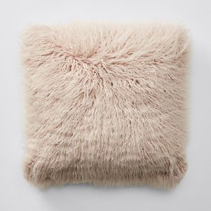 Our Fluffy cushion is the perfect accessory to add a depth of texture and design to your living area or bedroom. Dimensions: 45cm x 45cm.Soft fluffy...
