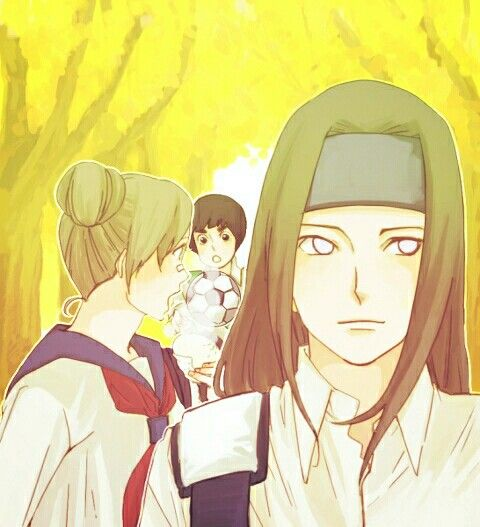 17 Best Images About Team 9 : Hyuga Neji , TenTen , Rock