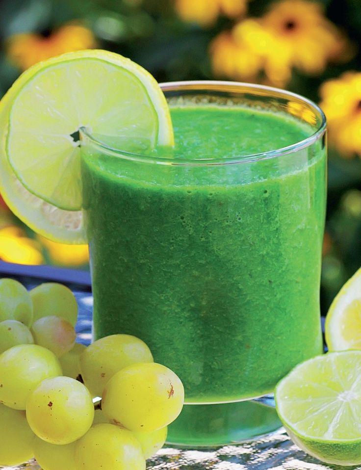 Здоровые и полезные завтраки. Смузи из апельсина и грейпфрута